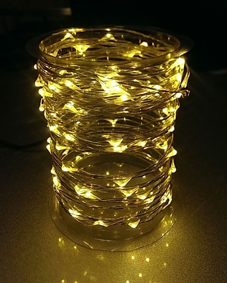 Brite Ideas Wire Light; Warm White WYF078277949957