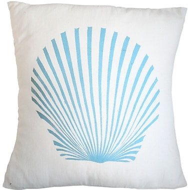 Sustainable Threads Carolina Seaside Cotton Throw Pillow; Large