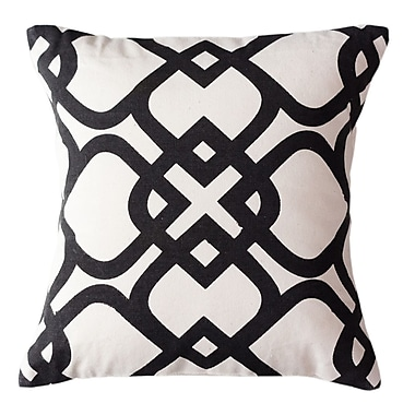 Sustainable Threads London Park Cotton Throw Pillow; Small