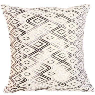 Sustainable Threads Philadelphia Lounge Cotton Throw Pillow; Small
