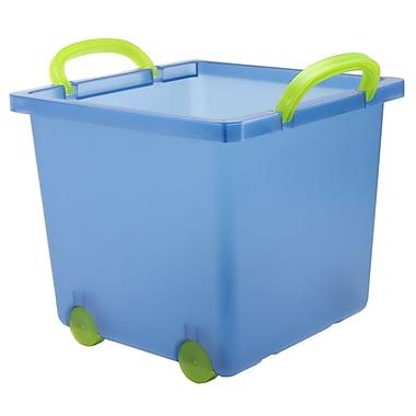 IRIS® Toy Storage Bin, Navy, 6 Pack (102806)