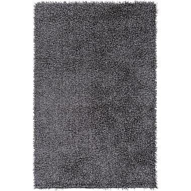 Brayden Studio Mchaney Hand-Tufted Gray Area Rug; Rectangle 2' x 3'