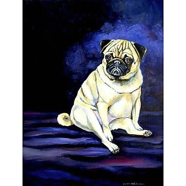 Caroline's Treasures Pug Penny for your thoughts House Vertical Flag