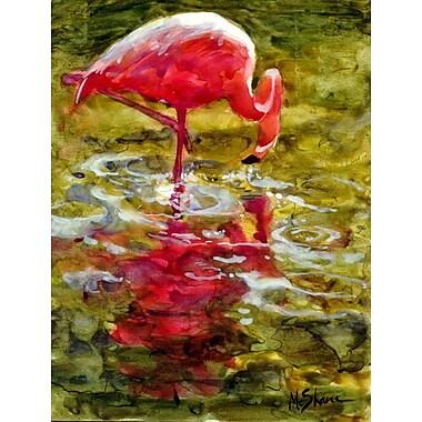 Caroline's Treasures Flamingo 2-Sided Garden Flag