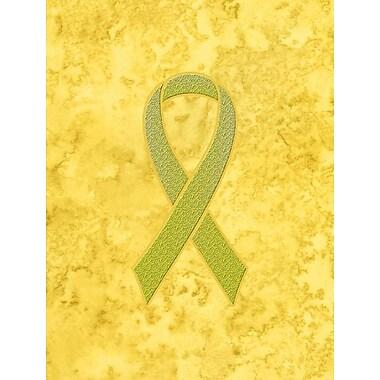 Caroline's Treasures Ribbon for Sarcoma, Bone or Bladder Cancer Awareness House Vertical Flag
