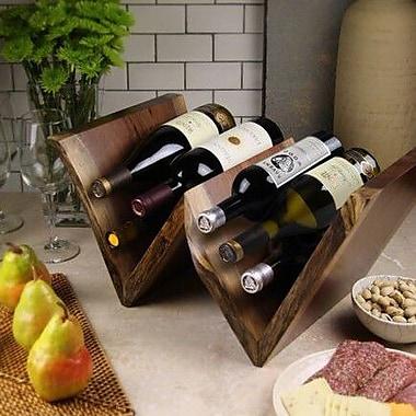 Martins Homewares Artisan Woods 12 Bottle Tabletop Wine Rack