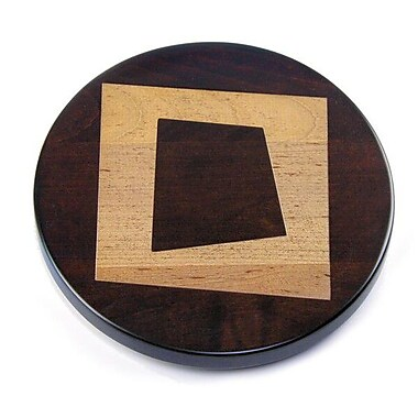 Martins Homewares Artisan Woods Abstract Square Lazy Susan