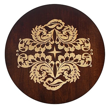 Martins Homewares Artisan Woods Fern Leaf Lazy Susan