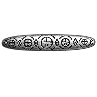 Big Sky Hardware Southwest Sun Face Bar Pull; Pewter