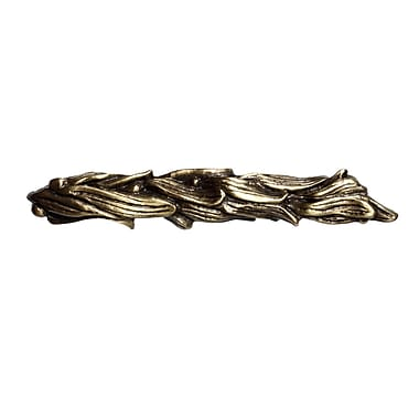 Big Sky Hardware Seaweed Bar Pull; Antique Brass