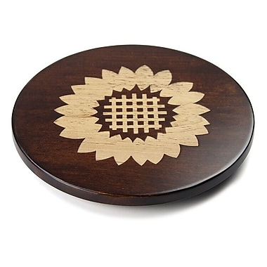 Martins Homewares Artisan Woods Sunflower Trivet