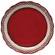 Thompson and Elm Colors Charger/Platter; Red