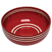 Thompson and Elm Colors Serving Bowl; Red