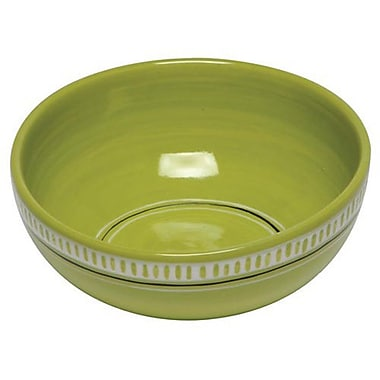 Thompson and Elm Colors Soup/Cereal Bowl (Set of 4); Green