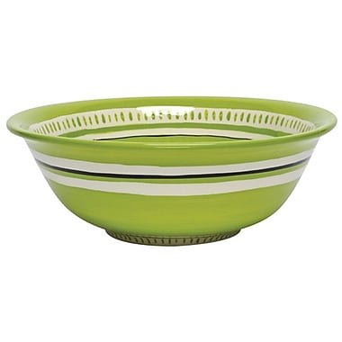 Thompson and Elm Colors Serving Bowl; Green