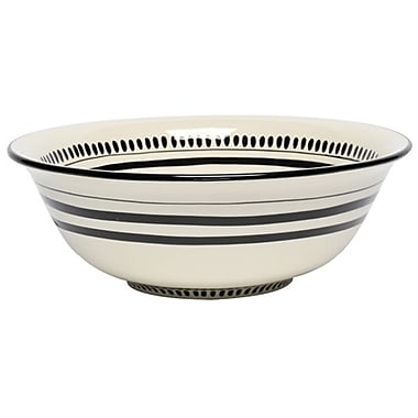 Thompson and Elm Colors Serving Bowl; White