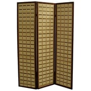 ORE Furniture 70.25'' x 52'' Bamboo 3 Panel Room Divider