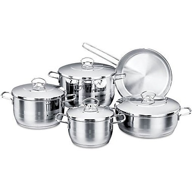 YBM Home Korkmaz 9 Piece Cookware Set