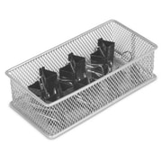 YBM Home Office Desktop and Shelf Organizer Bin/ Basket; 2'' H x 3'' W x 6'' D