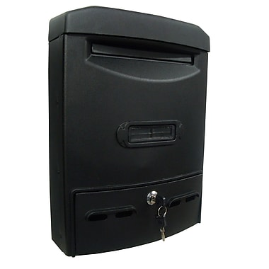 Fine Art Lighting Vault Locking Wall Mounted Mailbox