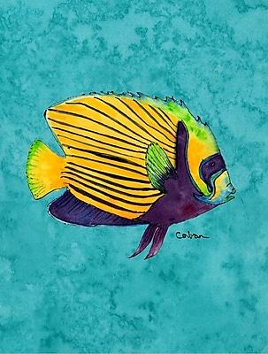 Caroline's Treasures Fish Tropical House Vertical Flag