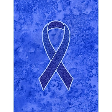 Caroline's Treasures Ribbon for Colon Cancer Awareness 2-Sided Garden Flag