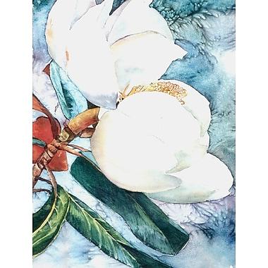Caroline's Treasures Magnolia 2-Sided Garden Flag