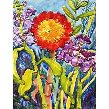 Caroline's Treasures Sunflower 2-Sided Garden Flag