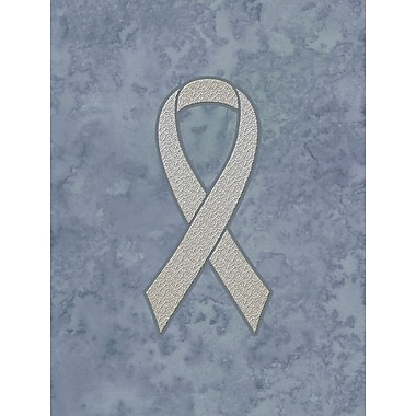 Caroline's Treasures Ribbon for Lung Cancer Awareness 2-Sided Garden Flag