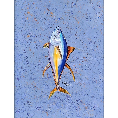 Caroline's Treasures Fish Tuna House Vertical Flag