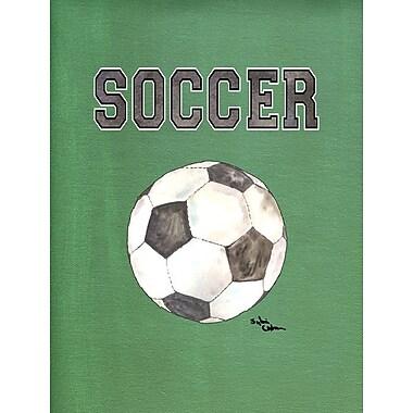 Caroline's Treasures Soccer 2-Sided Garden Flag