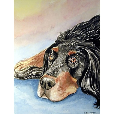 Caroline's Treasures Gordon Setter 2-Sided Garden Flag