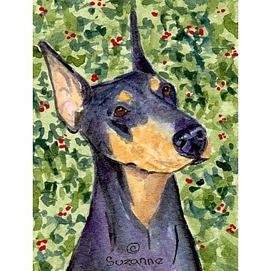 Caroline's Treasures Doberman 2-Sided Garden Flag