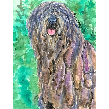 Caroline's Treasures Bergamasco Sheepdog 2-Sided Garden Flag