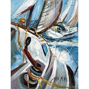 Caroline's Treasures Pain Killer Sailboat Race 2-Sided Garden Flag