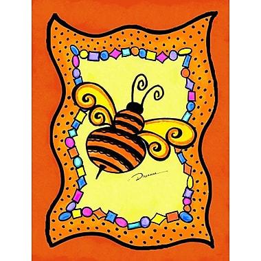 Caroline's Treasures Bee 2-Sided Garden Flag