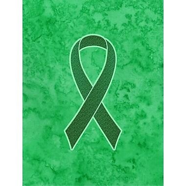 Caroline's Treasures Ribbon for Kidney Cancer Awareness 2-Sided Garden Flag
