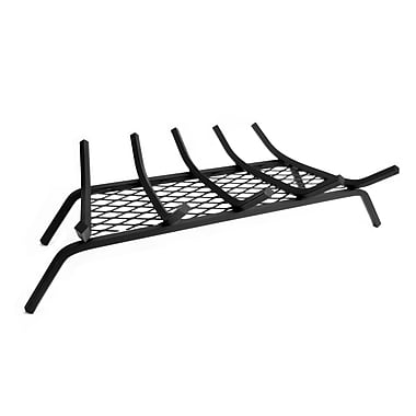 Pleasant Hearth Steel Fireplace Grate w/ Ember Retainer; 27''