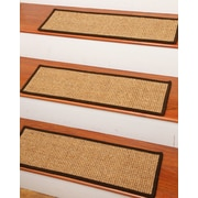 Natural Area Rugs Skyline Carpet Stair Tread; Set of 4
