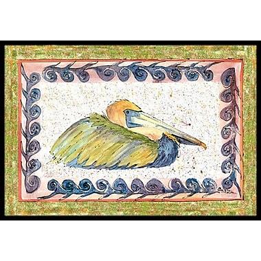 Caroline's Treasures Pelican Doormat; 2' x 3'
