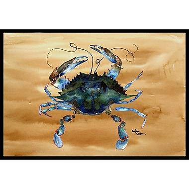 Caroline's Treasures Crab Doormat; Rectangle 1'6'' x 2' 3''
