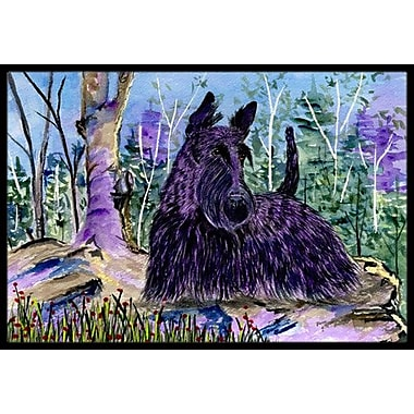 Caroline's Treasures Scottish Terrier Doormat; Rectangle 1'6'' x 2' 3''