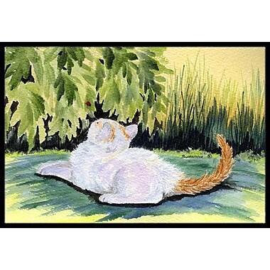 Caroline's Treasures Cat Doormat; Rectangle 2' x 3'