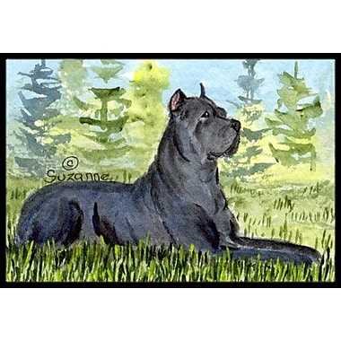 Caroline's Treasures Cane Corso Doormat; Rectangle 1'6'' x 2' 3''