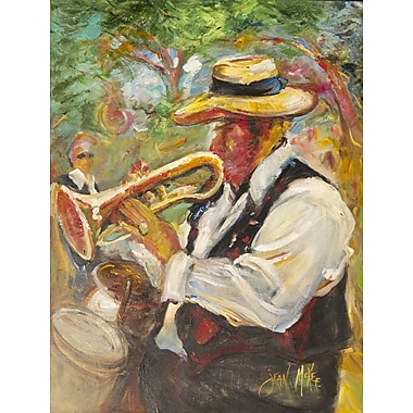 Caroline's Treasures Jazz Trumpet 2-Sided Garden Flag