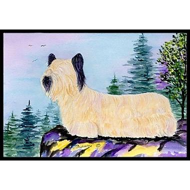 Caroline's Treasures Skye Terrier Doormat; Rectangle 2' x 3'