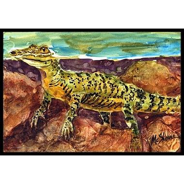 Caroline's Treasures Alligator Doormat; Rectangle 2' x 3'