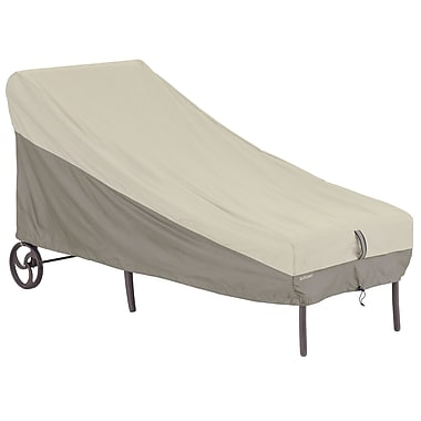Classic Accessories Belltown Chaise Cover; Gray