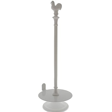 Chasseur Free-Standing Paper Towel Holder; White
