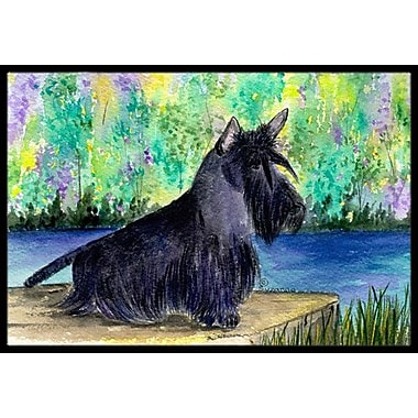 Caroline's Treasures Scottish Terrier Doormat; 1'6'' x 2' 3''